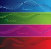Bandiere del Internet Immagine Stock