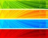 Bandiere dell'accumulazione Immagini Stock Libere da Diritti