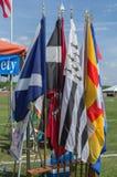 Bandiere della Scozia Immagine Stock Libera da Diritti
