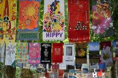 Bandiere di arte Immagini Stock Libere da Diritti