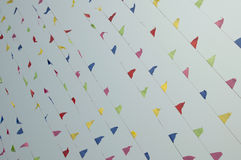 Bandiere di colore Fotografie Stock