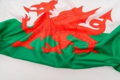 Bandiere di Galles Fotografie Stock