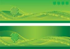 Bandiere di giorno della st Patrick Immagine Stock Libera da Diritti