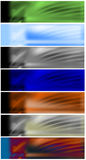 Bandiere di intestazioni di Web impostate royalty illustrazione gratis
