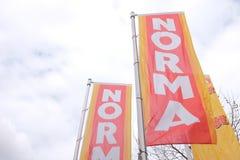 Bandiere di Norma Immagine Stock Libera da Diritti