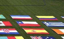 Bandiere di paese Immagini Stock