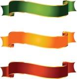 Bandiere di vettore Immagini Stock Libere da Diritti