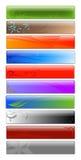 Bandiere di Web Fotografie Stock Libere da Diritti