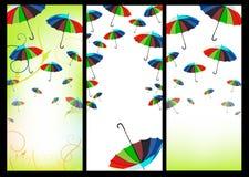 Bandiere di Web Immagine Stock