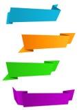Bandiere di Web royalty illustrazione gratis
