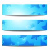 Bandiere di Web di vettore Fotografie Stock