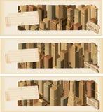 Bandiere life- urbane Immagine Stock
