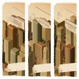 Bandiere life- urbane Immagini Stock
