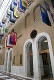 Bandiere nella Camera di massa storica U.S.A. dello stato Fotografia Stock Libera da Diritti