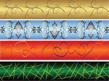 Bandiere senza giunte royalty illustrazione gratis