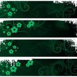 Bandiere separate illustrazione vettoriale