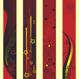 Bandiere verticali Fotografie Stock