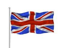 Bandierina 2 della Gran Bretagna Fotografia Stock Libera da Diritti