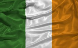 Bandierina 3 dell'Irlanda Fotografie Stock Libere da Diritti