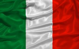 Bandierina 3 dell'Italia Immagini Stock Libere da Diritti