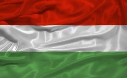 Bandierina 3 dell'Ungheria Immagini Stock Libere da Diritti