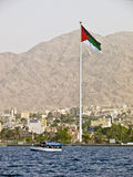 Bandierina araba di giro Immagini Stock Libere da Diritti