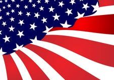 Bandierina astratta degli Stati Uniti Immagini Stock Libere da Diritti
