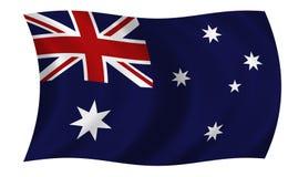 Bandierina australiana Immagini Stock Libere da Diritti