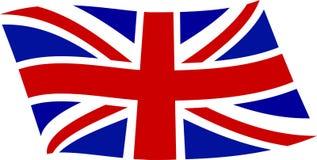 Bandierina BRITANNICA 2 Fotografia Stock Libera da Diritti
