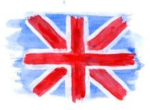 Bandierina britannica Immagine Stock