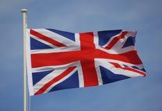 Bandierina britannica Immagine Stock Libera da Diritti