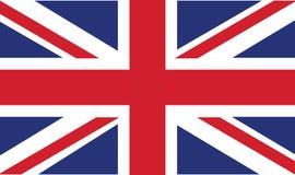 Bandierina britannica Immagini Stock Libere da Diritti
