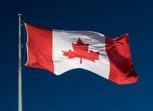 Bandierina canadese Fotografia Stock Libera da Diritti