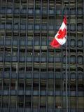 Bandierina canadese fotografie stock libere da diritti