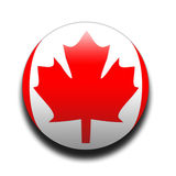 Bandierina canadese Immagine Stock Libera da Diritti