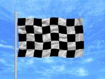 Bandierina Checkered 1 illustrazione di stock