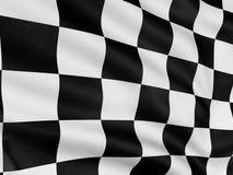 Bandierina Checkered 2 Immagini Stock Libere da Diritti