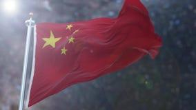 Bandierina cinese royalty illustrazione gratis