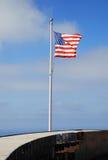 Bandierina commemorativa degli Stati Uniti di guerra Immagine Stock Libera da Diritti