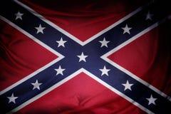 Bandierina confederata Fotografia Stock Libera da Diritti