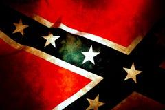 Bandierina confederata del patriota fotografia stock libera da diritti