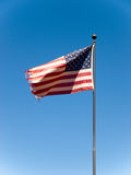 Bandierina degli S.U.A. Fotografie Stock