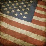 Bandierina degli S.U.A. fotografie stock libere da diritti