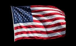 Bandierina degli S.U.A. Fotografia Stock Libera da Diritti