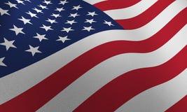 BANDIERINA DEGLI S.U.A. illustrazione vettoriale