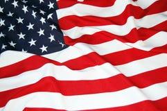Bandierina degli Stati Uniti Immagini Stock