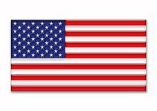 Bandierina degli Stati Uniti Fotografia Stock Libera da Diritti