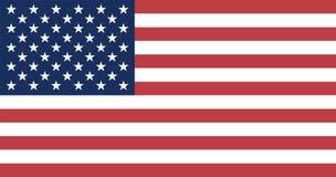Bandierina degli Stati Uniti Immagini Stock Libere da Diritti