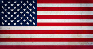 Bandierina degli Stati Uniti d'America Immagine Stock Libera da Diritti