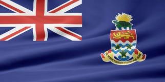 Bandierina dei Cayman Islands Immagine Stock